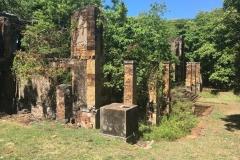 Une ruine de l'île Royale