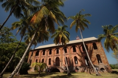 L'hôtel militaire de l'île Royale