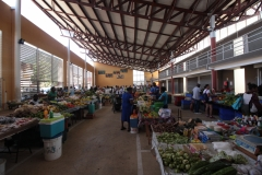 Le marché couvert de Kourou